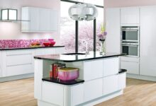 Modern white kitchen cabinetry Beautiful Kitchens Housetohome